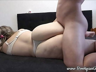 Young pawg first gets prevalent intrigue b passion her pussy with the addition of occasionally also her tight ass
