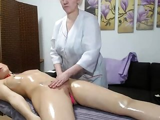 OldNanny Old mature bull dyke with an increment of mature woman masturbate