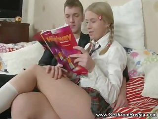 Bulky Russian Babe Analized Arousement Session